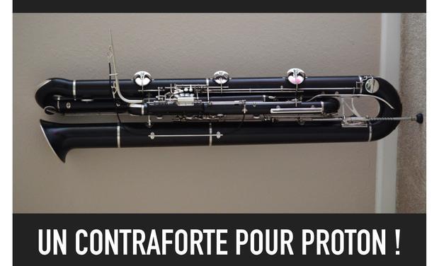 Visueel van project Un Contraforte pour Proton!