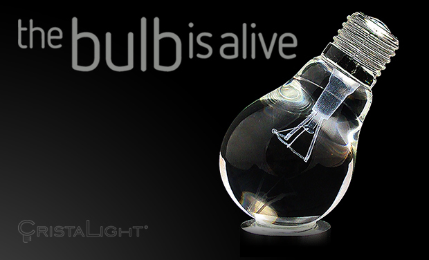 Visuel du projet CristaLight: the bulb is alive