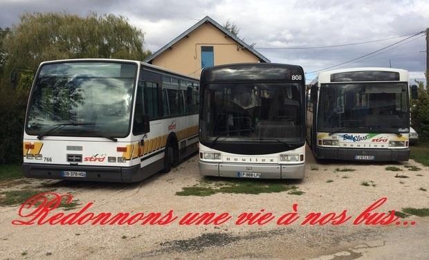 Visueel van project Redonnons une vie à nos bus...
