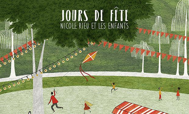 Visuel du projet Jours de fête pour Nicole Rieu et les enfants