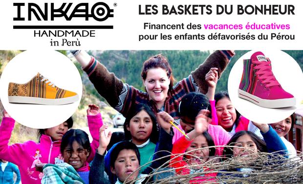 Visuel du projet Les baskets du bonheur