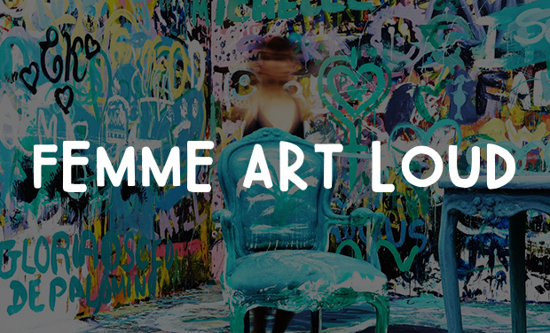 Project visual Soutenez Femme Art Loud !