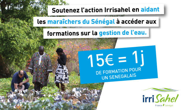 Project visual Projet IrriSahel : développer l'irrigation au Sénégal
