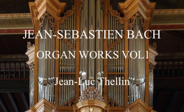 Visuel du projet Jean-Sébastien Bach organ works vol 1