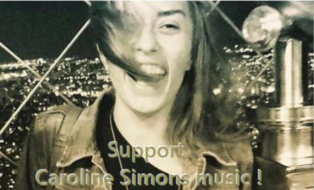 Visuel du projet Soutenez l'artiste Pop Caroline Simons managée par Fabrice Sioul