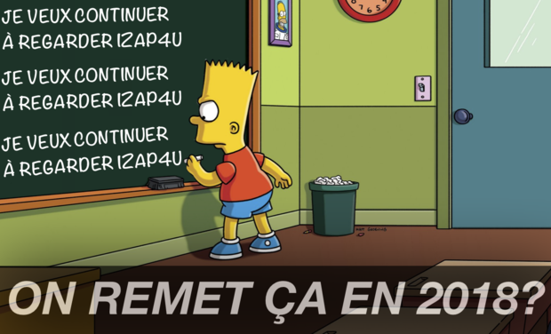Visueel van project On remet ça en 2018?