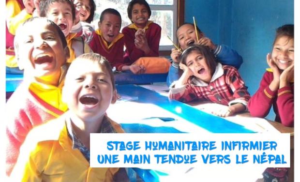 Visuel du projet Stage humanitaire infirmier - Une main tendue vers le Népal