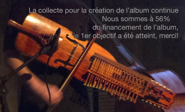 Project visual Album Solo de Nyckelharpa - Ingrid Obled
