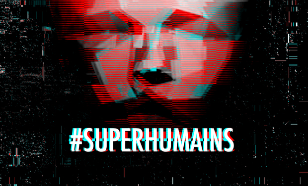 Visueel van project #SUPERHUMAINS