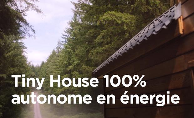 Visuel du projet Tiny House 100% autonome