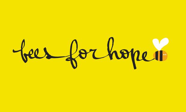 Visuel du projet Beesforhope, un miel équitable