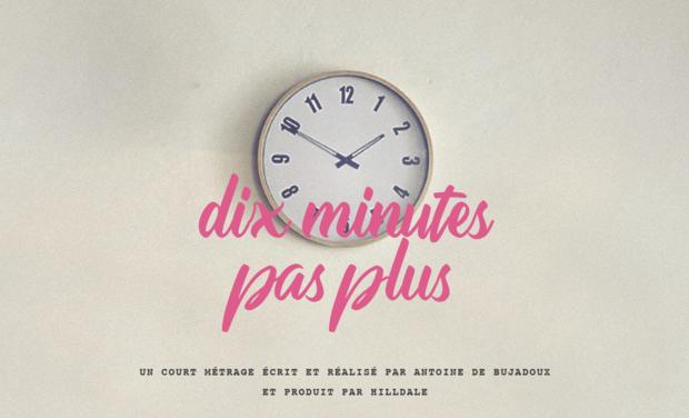 Visuel du projet Dix minutes pas plus