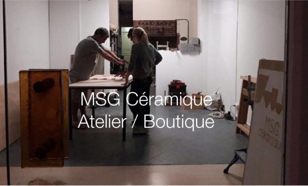 Visueel van project L'atelier / Boutique MSG Céramique