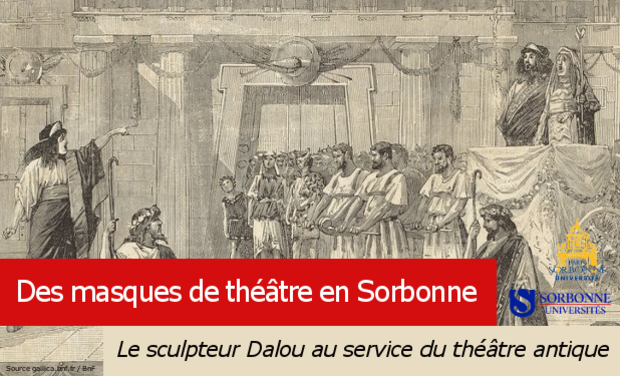 Project visual Des masques de théâtre en Sorbonne