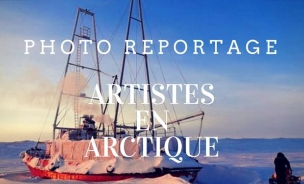 Visuel du projet Artistes en Arctique - Photoreportage