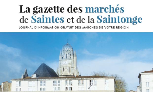 Visuel du projet La Gazette des marchés de Saintes et de la Saintonge