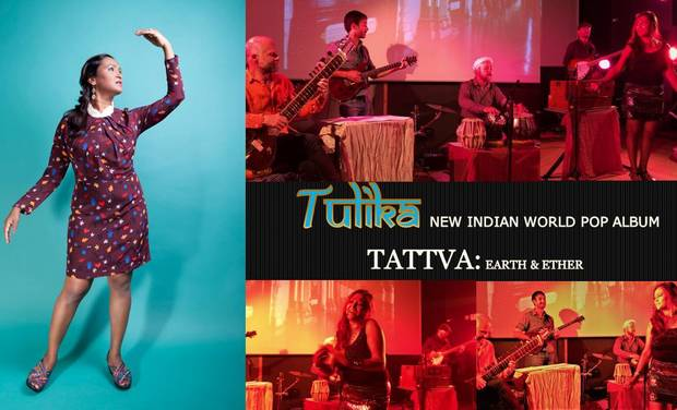 Visuel du projet Tulika presents new Indian pop album Tattva