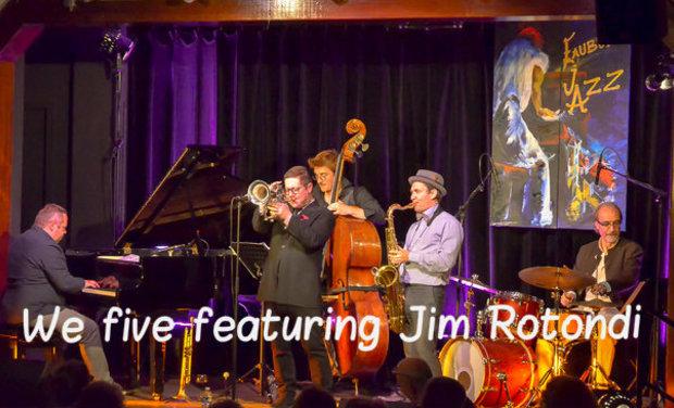 Visueel van project We five featuring Jim Rotondi
