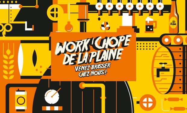 Project visual Work'chope de la Plaine. Venez brasser chez nous !