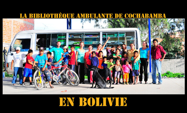 Project visual Faire vivre le bibliobus de Cochabamba en Bolivie