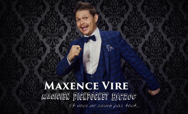 Project visual Une Tournée de Conférence magique avec Maxence VIRE