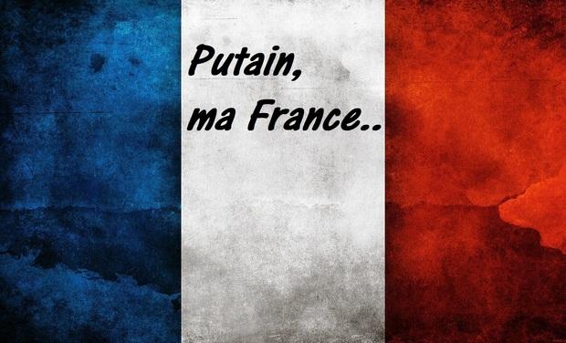 Visueel van project Putain, ma France..