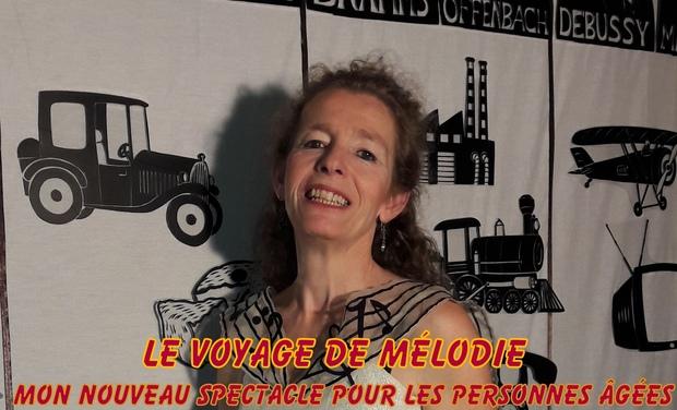 Visuel du projet Le Voyage de Mélodie par Odile Le Falher