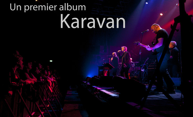 Project visual Un album de Karavan en 2018