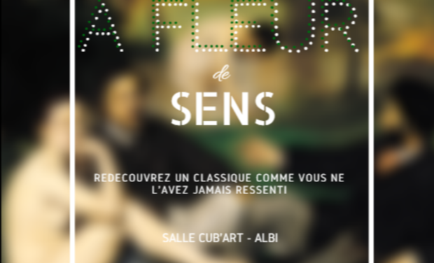 """Visuel du projet Exposition """"A fleur de sens"""""""