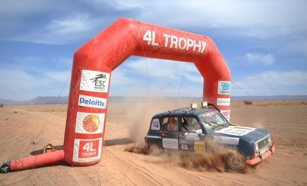 Project visual Participez à l'aventure 4L Trophy avec nous !!