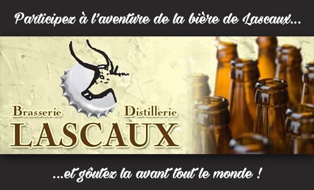 Project visual Brasserie Distillerie Lascaux