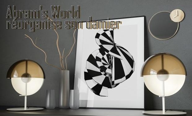 Project visual Abram's World réorganise son Damier