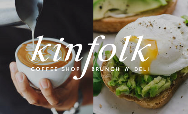 Visueel van project Kinfolk // coffee shop . brunch . deli