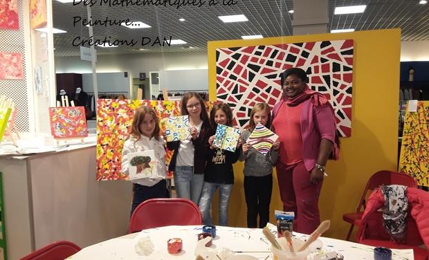 Project visual Des mathematiques à la peinture