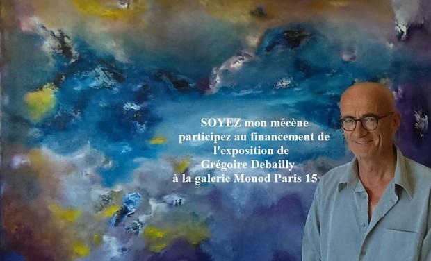 Visuel du projet Exposition peinture Grégoire Debailly à Paris.