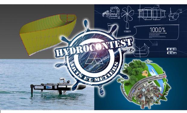 Visuel du projet HydroContest Arts et Métiers - Edition 2018