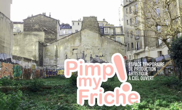 Visuel du projet Pimp my Friche ! Espace temporaire de production artistique à ciel ouvert