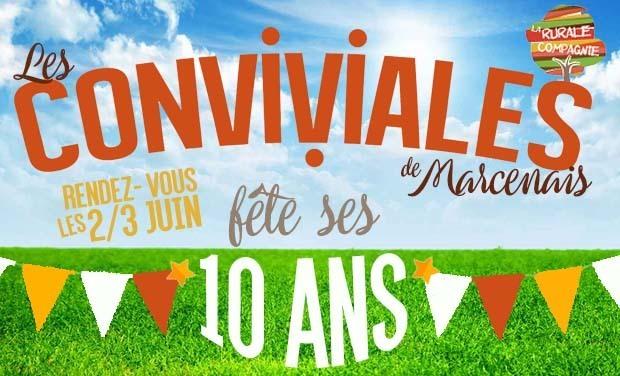 Visuel du projet LES CONVIVIALES de MARCENAIS fête ses 10 ANS !!!