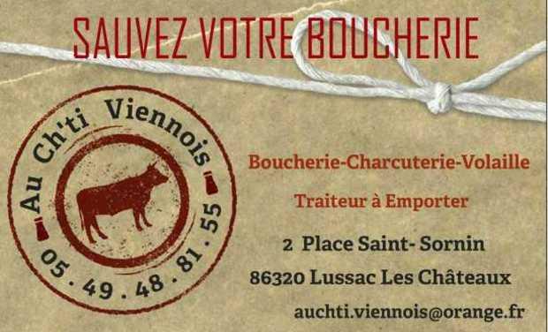 Visuel du projet Sauvez votre Boucherie Au Ch'ti Viennois