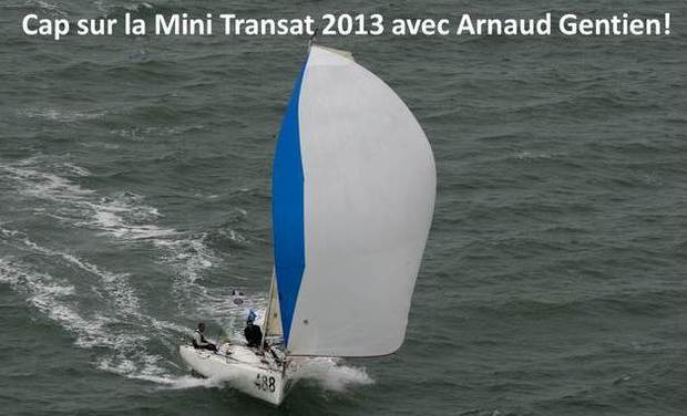 Visuel du projet Courez la Mini Transat 2013 avec Arnaud Gentien