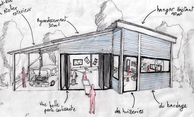 Visuel du projet Atelier Collectif de Menuiserie