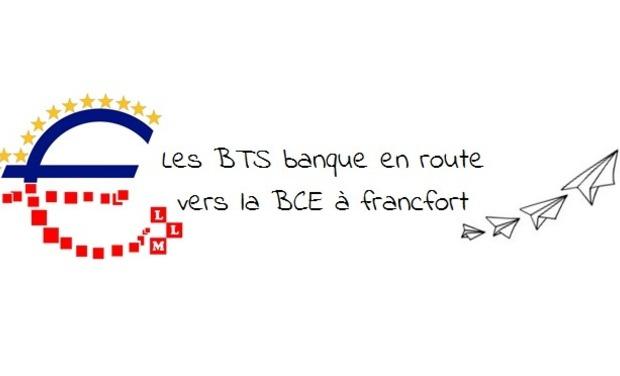Visuel du projet Les BTS banque en route vers la BCE à Francfort