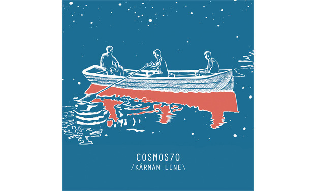 Visueel van project Cosmos70, nouvel album, Kármán line