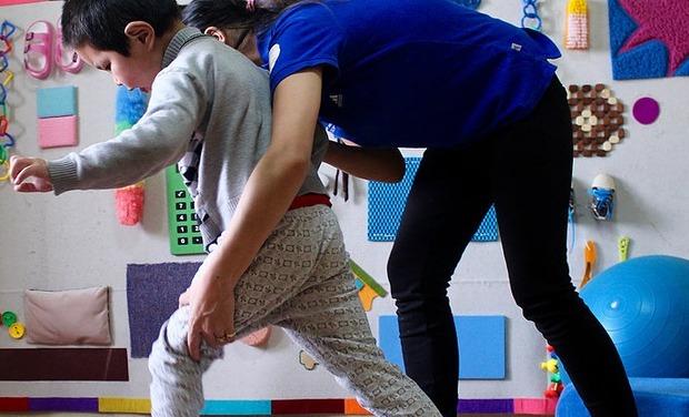 Project visual Achat de matériel et soutien aux enfants handicapés de Mongolie