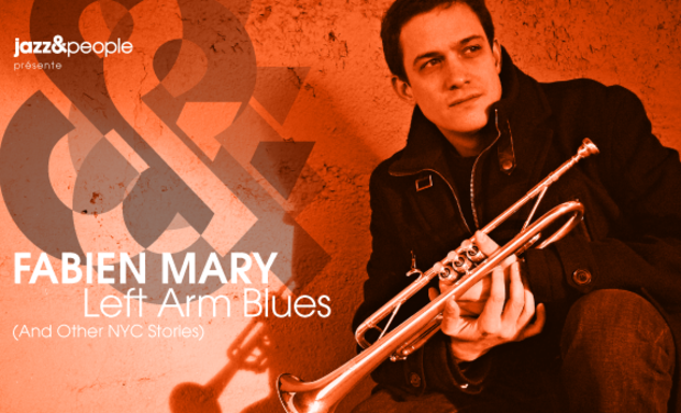 "Visuel du projet Fabien Mary ""Left Arm Blues (and Other NYC Stories)"""