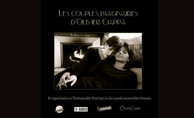 Visueel van project Les couples imaginaires d'Olivier Ciappa