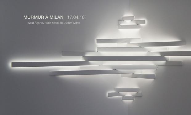 Les Sculptures Lumineuses MURMUR à Milan