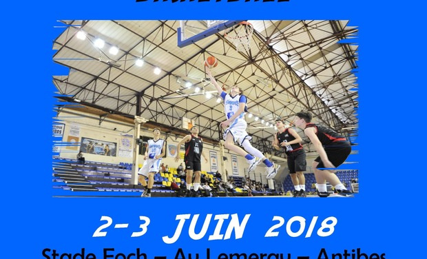 Project visual Tournoi International U15 Basketball