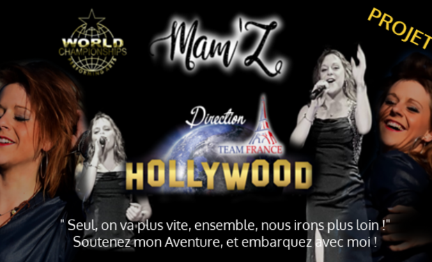 Project visual Mam'Z à Hollywood pour les JO de Talents !
