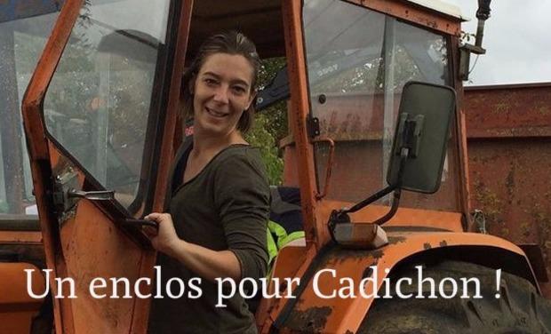 Visuel du projet La Ferme d'animation du Larris : Un enclos pour Cadichon !